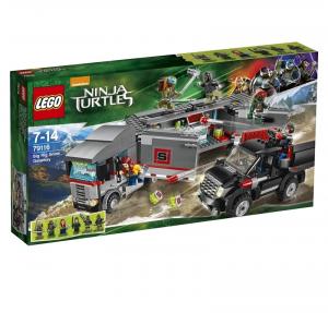 LEGO NINJA TURTLES FUGA SULLA NEVE CON IL BIG RIG 79116