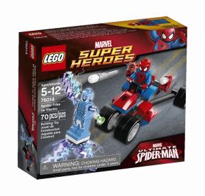 LEGO SUPER HEROES MOTO-RAGNO VS. ELECTRO 76014