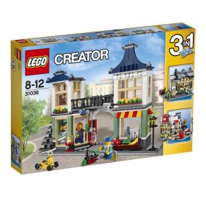 LEGO CREATOR NEGOZIO DI GIOCATTOLI E DROGHERIA 31036