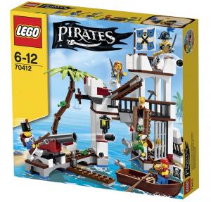 LEGO PIRATES IL FORTE DEI SOLDATI 70412