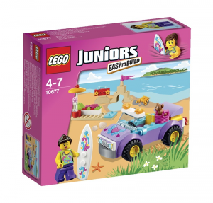 LEGO JUNIORS GITA AL MARE cod. 10677