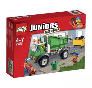 LEGO JUNIORS CAMIONCINO DELLA SPAZZATURA cod. 10680