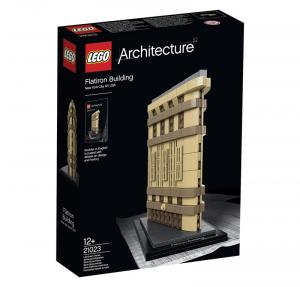 LEGO ARCHITECTURE GRATTACIELO FLATIRON 21023