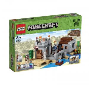 LEGO MINECRAFT L'AVAMPOSTO NEL DESERTO 21121