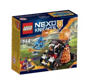 LEGO NEXO KNIGHTS CAOS CON LA CATAPULTA 70311