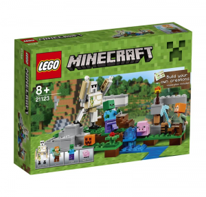 LEGO MINECRAFT IL GOLEM DI FERRO 21123