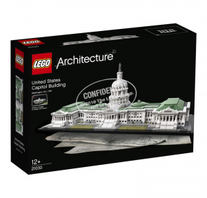 LEGO ARCHITECTURE CAMPIDOGLIO DI WASHINGTON 21030