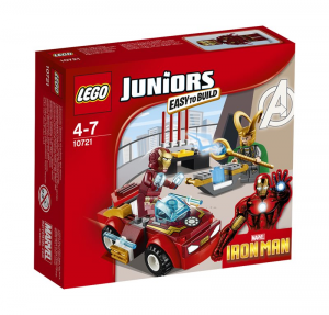 LEGO JUNIORS IRON MAN CONTRO LOKI 10721