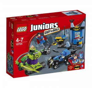 LEGO JUNIORS BATMAN E SUPERMAN VS LEX LUTHOR 10724