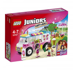 LEGO JUNIORS IL FURGONE DEI GELATI DI EMMA 10727