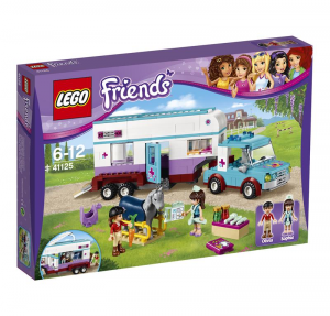 LEGO FRIENDS RIMORCHIO VETERINARIO DEI CAVALLI 41125