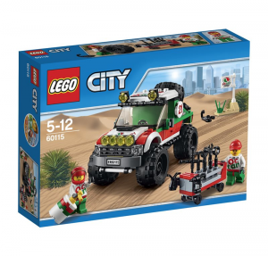 LEGO CITY FUORISTRADA 4X4 60115