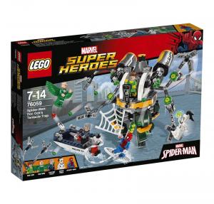 LEGO SUPER HEROES SPIDERMAN: LA TRAPPOLA TENTACOLARE 76059