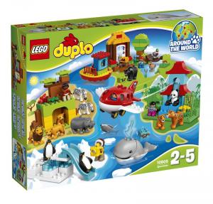 LEGO DUPLO VIAGGIO INTORNO AL MONDO 10805