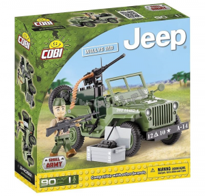COBI JEEP WILLYS MB 90 PCS 094356