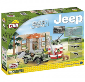 COBI JEEP WILLYS MB CHECKPOINT DI CONFINE 300 PCS 094361