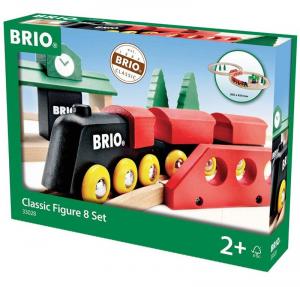 BRIO SET TRENINO CON CLASSICA FIGURA A 8 33028