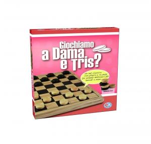 DAMA/TRIS IN LEGNO cod. 1307