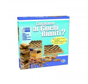 GIOCHI RIUNITI IN LEGNO cod. 1308