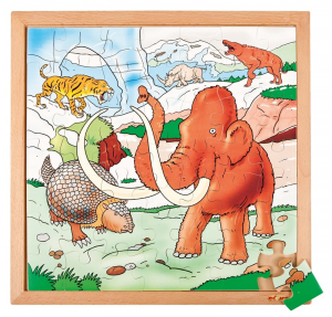 EDUCO DINOPUZZLE - TRA I GHIACCI (49 PZ)