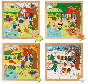 EDUCO PUZZLE STAGIONI - ESTATE (36 PZ)