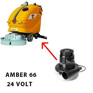 Amber 66 Motore de aspiración AMETEK 24 volt