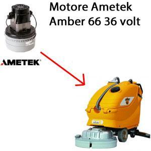 Amber 66 Motore de aspiración AMETEK  36 volt