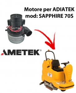 Sapphire 70S  Motores de aspiración Ametek Italia  para fregadora Adiatek