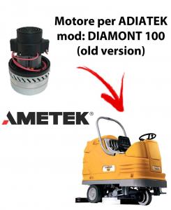 Diamond 100  Motore de aspiración Ametek Italia  para fregadora Adiatek