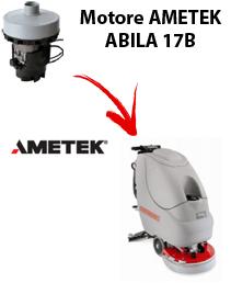 ABILA 17B Motore de aspiración Ametek para fregadora Comac