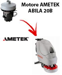 ABILA 20B Motores de aspiración Ametek para fregadora Comac