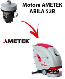 ABILA 52B Motore de aspiración Ametek para fregadora Comac