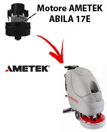 ABILA 17E Motores de aspiración Ametek para fregadora Comac