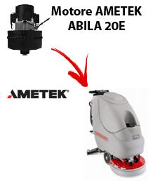 ABILA 20E Motore de aspiración Ametek para fregadora Comac