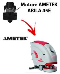 ABILA 45E Motores de aspiración Ametek para fregadora Comac