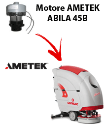 ABILA 45B Motores de aspiración Ametek para fregadora Comac