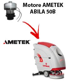 ABILA 50B Motore de aspiración Ametek para fregadora Comac