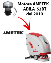 ABILA 52BT MOTORE AMETEK dal 2010 aspirazione fregadoras Comac