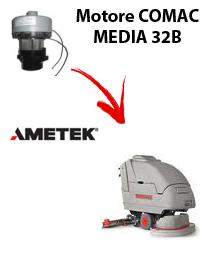 MEDIA 32B Motores de aspiración Ametek para fregadora Comac