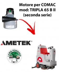 TRIPLA 65 B II Motore de aspiración AMETEK aspirazione fregadoras Comac