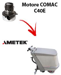 C40 E Motore de aspiración Ametek para fregadora Comac