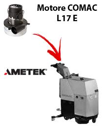 L17 y  Motores de aspiración Ametek para fregadora Comac