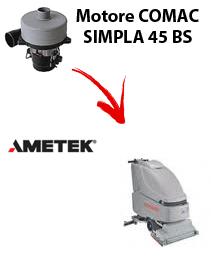SIMPLA 45 BS  Motores de aspiración Ametek para fregadora Comac