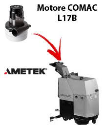 L17B  Motore de aspiración Ametek para fregadora Comac
