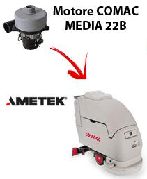 MEDIA 22B  Motores de aspiración Ametek para fregadora Comac