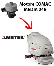 MEDIA 24B  Motores de aspiración Ametek para fregadora Comac