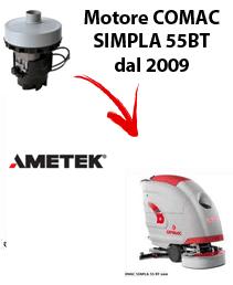 SIMPLA 55BT dal 2009 Motores de aspiración Ametek para fregadora Comac