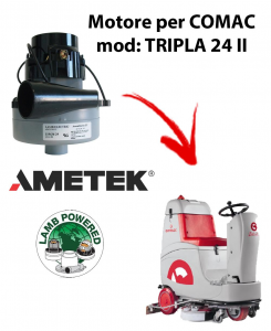 TRIPLA 24 II Motores de aspiración AMETEK para fregadora Comac