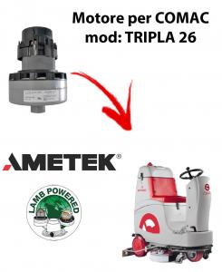 TRIPLA 26 Motores de aspiración AMETEK para fregadora Comac