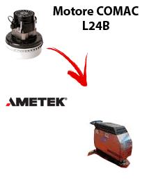 L 24B  Motore de aspiración Ametek para fregadora Comac
